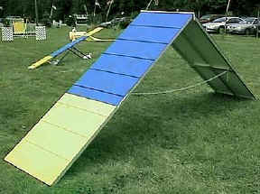 Competition A-frame Ramp or Aframe Ramp AKC or USDAA