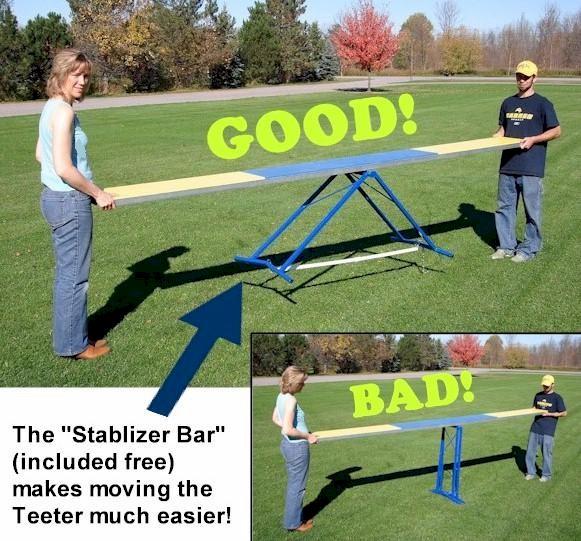 video agility slalom callieway